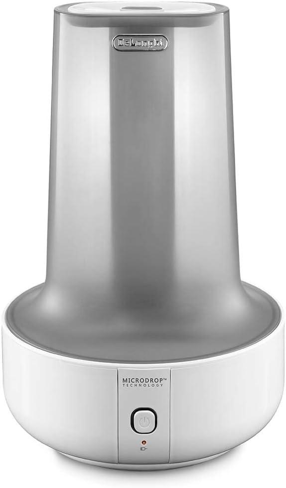 DeLonghi UHX17 Humidificador, 200 W, vapor caliente y humidificación fresca, depósito extraíble 1.6 L, 7h de funcionamiento, indicador de Auto apagado, plástico, blanco: Amazon.es: Hogar
