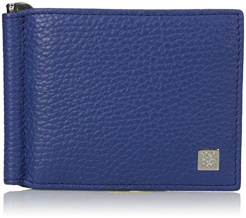 Bi Color Wallet - Bruno Magli Men's Bicolor Wallet, Royal, One Size