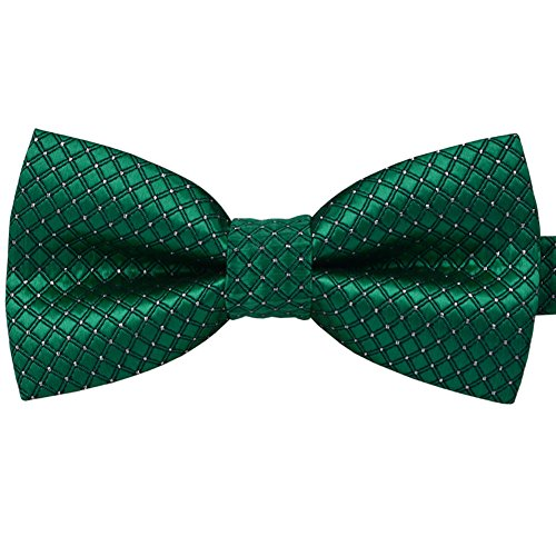 Baicfquk® Colorful Polka Dots Bow Tie,Adjustable Bowtie Fashion Accessories for Pet Dog Cat BT298 (Emerald green)