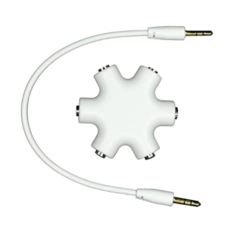 Amazon Com Multi Splitter Stereo Hub Cable