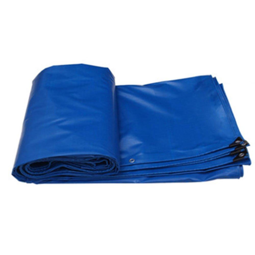 JIANFEI オーニング 防水耐寒性日焼け止め耐久性耐摩耗性PVC厚さ0.5mm 5色カスタマイズ可能 (色 : Blue, サイズ さいず : 7.8x4.8m) B07FYL212G 7.8x4.8m|Blue Blue 7.8x4.8m