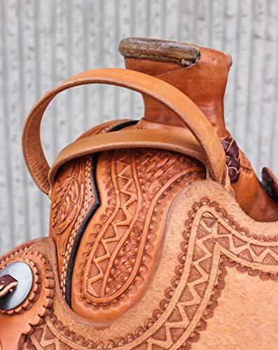 www.mroyalsaddles.com Horse Safety Leather Night Latch Western Saddle Adjustable Handle