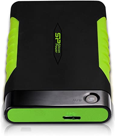 Silicon Power Rugged Armor A15 2tb External Hard Drives Computers Accessories