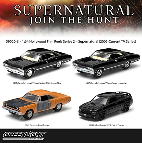 "Set of 4: Greenlight Hollywood Film Reels ""Supernatural"" 1:"