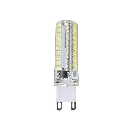 masterein G9 7 W 152 LED Beads silicona LED Bombillas LED de intensidad regulable bombillas para