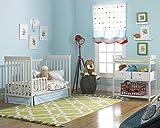 Fisher-Price 6 Piece Nursery Furniture Bundle, Misty Grey