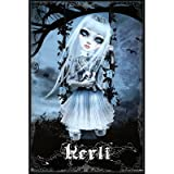 Kerli (Girl on Swing) Art Poster Print - 24x36 Poster Print, 24x36
