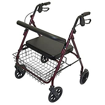 Days heavy duty steel bariatric rollator for Mobility walker