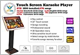 Touch Screen All-In-One Karaoke Jukebox/Machine Karaoke System Cloud Download 4T 87K Chinese+ Cantonese +Taiwanese+ English Select Songs Both Via Touch Screen And Mobile Device