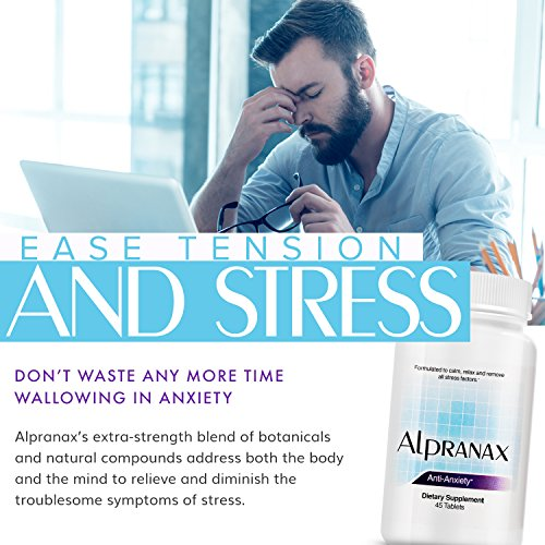 Avinol PM Bundle with Alpranax - Natural Sleep Aid with Melatonin and 5-HTP + Herbal Relaxation and Stress Relief Supplement - Reduce Stress and Get Deep Restful Sleep - (2 Items) by Avinol PM and Alpranax (Image #4)