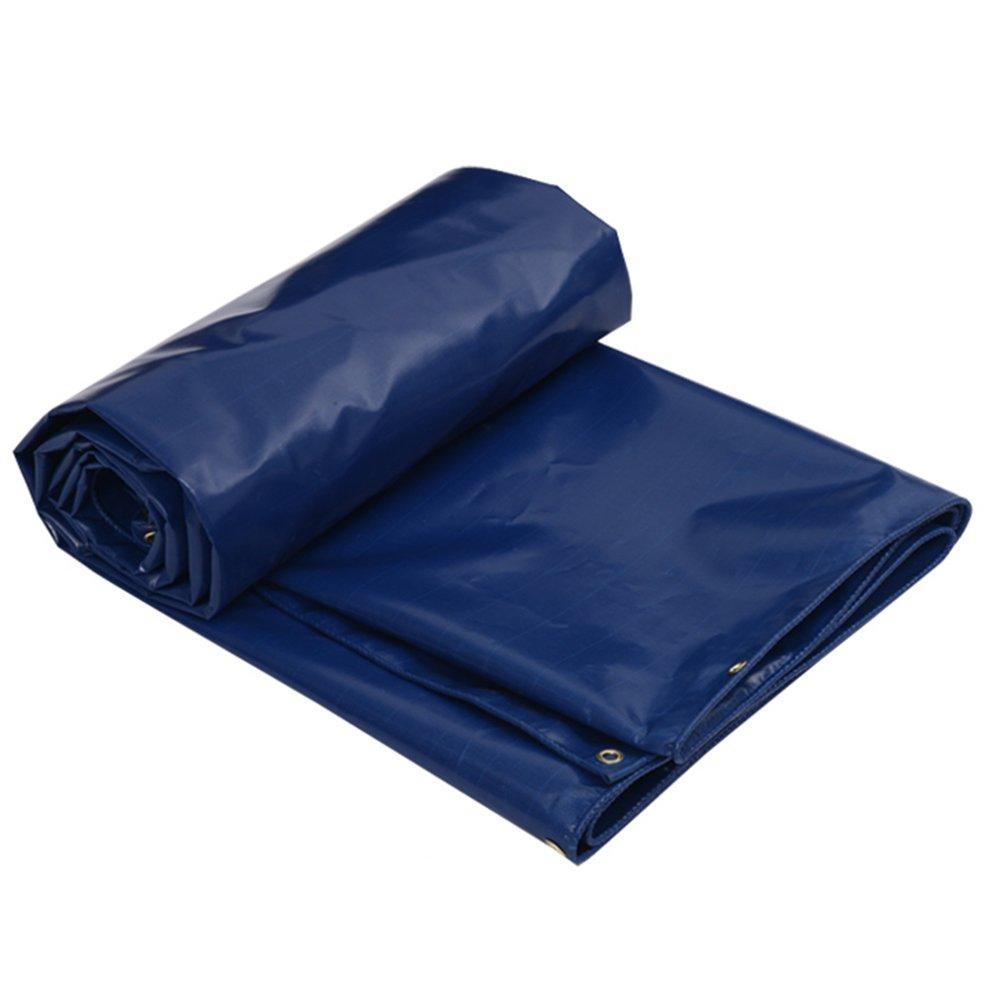 CHAOXIANG オーニング 折りたたみ可能 厚い 両面 防水 日焼け止め 耐寒性 耐摩耗性 耐食性 防塵の PVC 青、 500g/m 2、 9サイズ (色 : 青, サイズ さいず : 2x3m) B07DB73Z6V 2x3m|青 青 2x3m