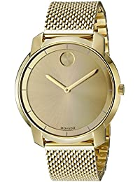 Womens 3600242 Swiss Quartz Gold-Tone Stainless Steel Watch