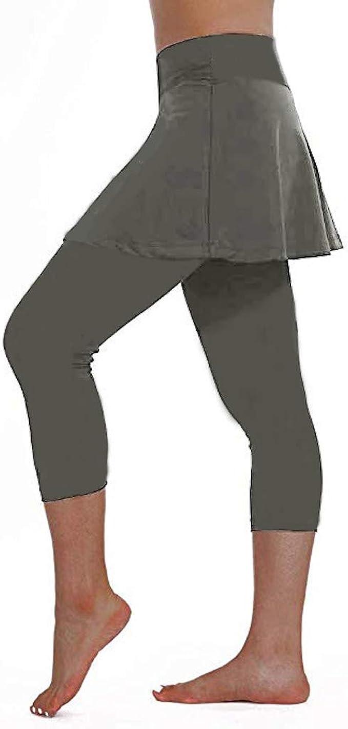 Kword Pantaloncini Sportivi Donna di Vita Alta Leggings Donna Palestra Push Up Yoga Short Addome Controllo Formazione Running Yoga Pantaloni Pantaloni Corti da Donna Estivi Eleganti