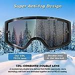 BFULL-Occhiali-da-Sci-Anti-Appannamento-e-Protezione-UV400-Maschera-da-Sci-OTG-con-Pulsante-di-Blocco-Resistenti-agli-Urti-e-Compatibili-con-Casco-Maschera-Snowboard-per-Uomo-Donna-Giovane