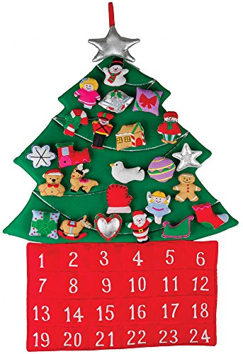 Christmas Tree Fabric Advent Calendar (Countdown to Christmas) ()