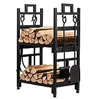 Patavin Fireplace Log Holder Set - Two R...