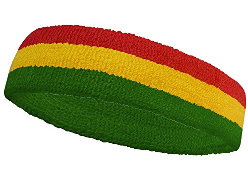 (COUVER National Country Flag color Headband, (1 piece))