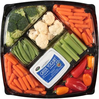 Gourmet Vegetable Tray, 4 lb