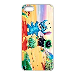 iPhone 5,5S Phone Case White Lilo &amp Stitch Lilo Pelekai DZW9565306