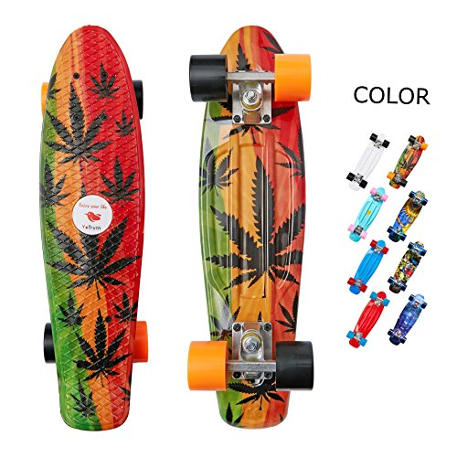 yotruth Penny Board Mini Cruiser Skateboard 22'' (Three for sale  Delivered anywhere in USA