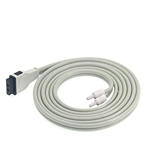 Cable for Marquette/Dash, Temperature Probes Sensors, Tester Сonductive Wire, Data Recorder Cable, Extension Tube Connecting Tube Series (Marquette Dash 2000/3000/4000 Extension Pipe)