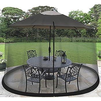 Amazon Com Oceantailer 9 Patio Umbrella Outdoor Table Bug Screen