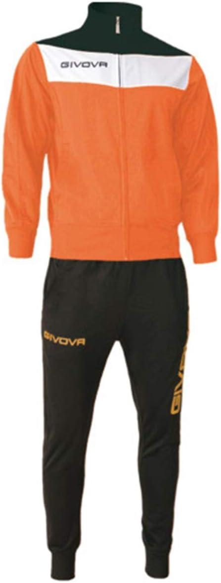 Giosal Completo Tuta Sportiva GIVOVA Uomo Donna Unisex Relax Sport Allenamento Running
