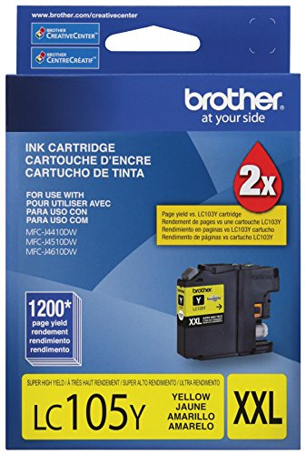Brother Innobella LC105Y Ink Cartridge - Yellow - Inkjet - 1