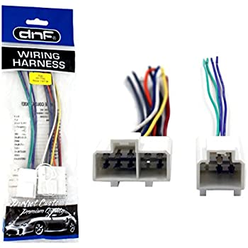 dnf aftermarket wiring harness for select nissan vehicles (70-1763) - 100%  copper wires!