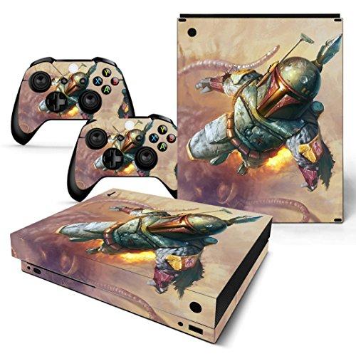 EBTY-Dreams Inc. - Microsoft Xbox One X Scorpio - Star Wars Boba Fett Vinyl Skin Sticker Decal Protector]()