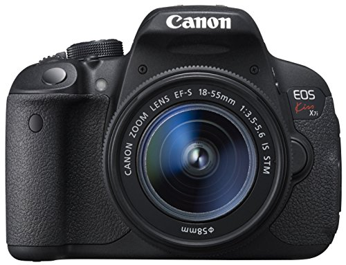 Canon DSLR Camera EOS Kiss X7i with EF-S18-55mm IS STM – International Version (No Warranty)