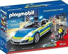 Playmobil 70067 City Action Porsche 911 Carrera 4S Policía Multicolor