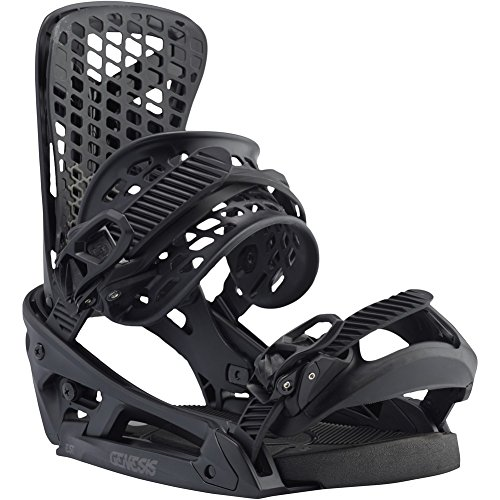 Burton Genesis EST 2017 Snowboard Bindings Mens Black MD 9-11 Balance Snowboard Bindings