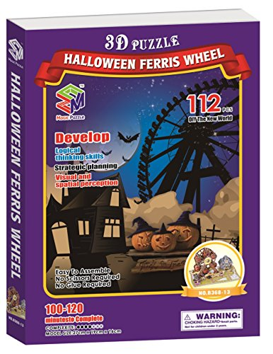 Halloween Ferris Wheel, 112 Pieces (Interesting Facts About Halloween For Kids)