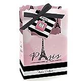 Paris, Ooh La La - Paris Themed Baby Shower or Birthday Party Favor Boxes - Set of 12
