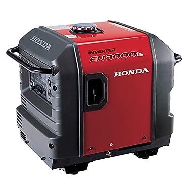 Honda EU3000IS1A 2800W Gas Inverter Generator with 120VAC, Electric/Recoil
