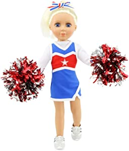 """Emily Rose 14 Inch Doll Clothes for Wellie Wisher Dolls 