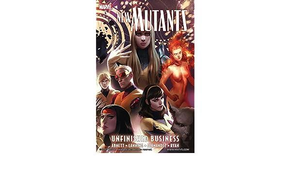 New Mutants Vol. 4: Unfinished Business (New Mutants (2009 ...