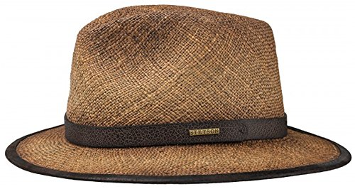 Stetson Rodeo Seagrass Straw Hat, XL (Stetson Rodeo)
