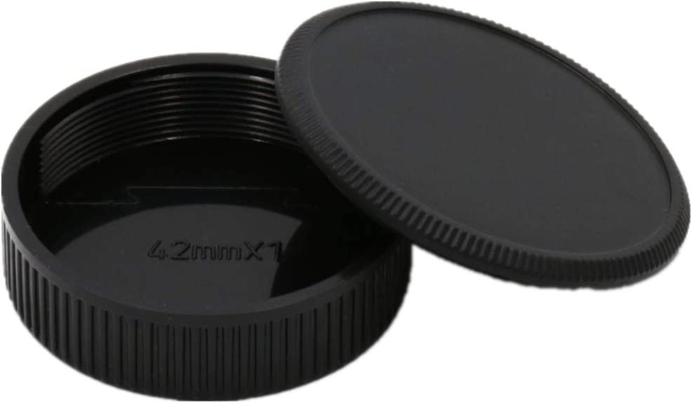 Camera Body and Rear Lens caps,Compatible with M39 Screw Mount Body and Lenses