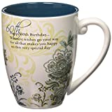 "Mark My Words 66124 60th Birthday 20 oz Mug, Pavilion Gift, 4.75"", Multicolor"