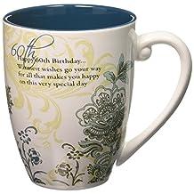 "Mark My Words 66124 60th Birthday 20 oz Mug, Pavilion Gift, 4.75"", Multicolor"