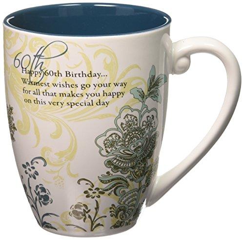 (Pavilion Gift Company 66124 60th Birthday 17-Ounce Mug, Pavilion Gift, 4-3/4-Inch)