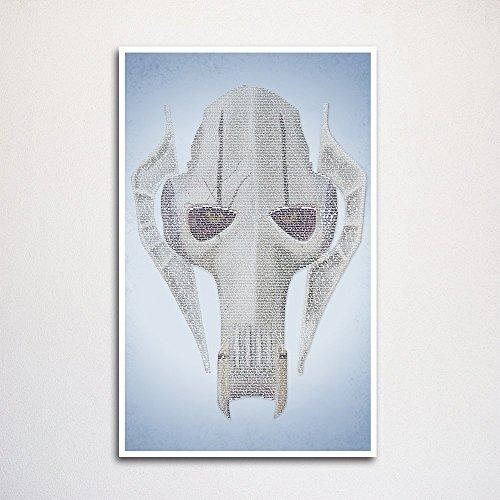 Revenge of the Sith word art print 11x17