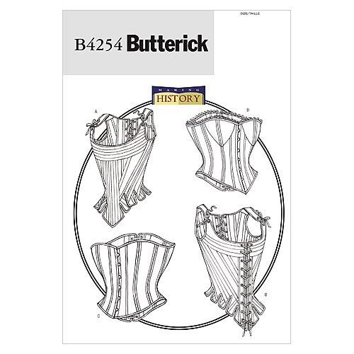 Butterick Patterns Misses Corsets 6 8 10 product image