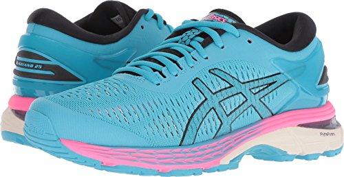 ASICS Women's Gel-Kayano 25 Running Shoe, Aquarium/Black, 8.5 B(M) US