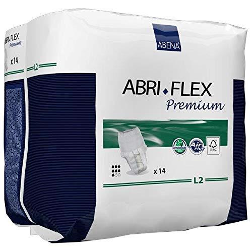 Abri-Flex L2 Premium Protective Underwear Large, 39'' - 55'' - Case of 84