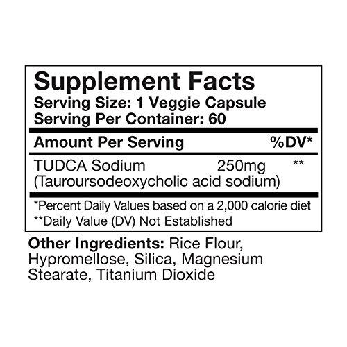 TUDCA (Tauroursodeoxycholic Acid) 3 bottles
