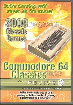 Commodore 64 Classics: Amazon co uk: PC & Video Games