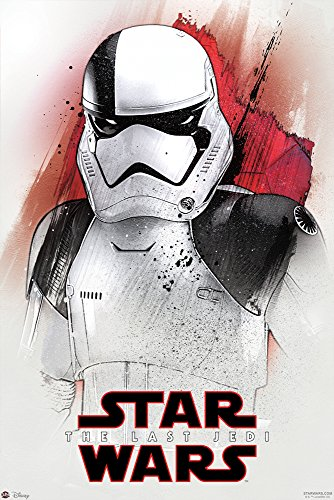 POSTER STOP ONLINE Star Wars: Episode VIII - The Last Jedi - Movie Poster/Print (Stormtrooper/Watercolor Art) (Size: 24